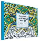 Journey in Color: Moroccan Motifs Coloring Book Cover Image
