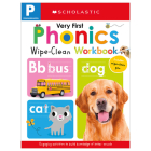 Very First Phonics Pre-K Wipe-Clean Workbook: Scholastic Early Learners (Wipe-Clean) Cover Image