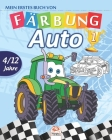 Mein erstes buch von - auto 1: Malbuch für Kinder von 4 bis 12 Jahren - 27 Zeichnungen - Band 1 Cover Image