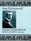 Piano Concertos Nos. 1, 2 and 3 in Full Score (Dover Music Scores) Cover Image
