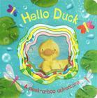 Hello Duck (Die-Cut Animal Board) Cover Image