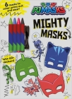 PJ Masks: Mighty Masks (Coloring Books with Covermount) Cover Image