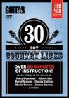 Guitar World -- 30 Hot Country Licks: Over 60 Minutes of Instruction!, DVD Cover Image