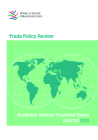 Trade Policy Review 2015: Southern African Customs Union (Sacu) Botswana, Lesotho, Namibia, South Africa, and Swaziland: Southern African Customs Unio Cover Image