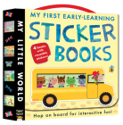 My First Early-Learning Sticker Books (My Little World) Cover Image