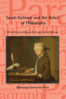 Sarah Kofman and the Relief of Philosophy: Paragraph, Volume 44, Issue 1 (Paragraph Special Issues) Cover Image