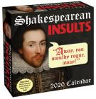 Shakespearean Insults 2020 Day-to-Day Calendar Cover Image
