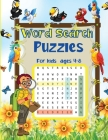 Word Search for Kids 4-8: An Amazing and Challenging Word Search Puzzles for Smart Kids Cover Image
