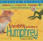 Friendship According to Humphrey (Humphrey (Audio) #2) Cover Image