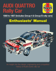 Audi Quattro Rally Car Enthusiasts' Manual: 1980 to 1987 (includes Group 4 & Group B rally cars) * An insight into the design, engineering and competition history of Audi's iconic rally car Cover Image