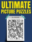 Ultimate Picture Puzzles: Spot the Difference Book for Adults Cover Image