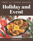 Hmm! 365 Yummy Holiday and Event Recipes: Welcome to Yummy Holiday and Event Cookbook Cover Image