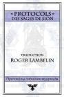Protocoles des sages de Sion Cover Image
