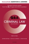 Concentrate Q&A Criminal Law 2e: Law Revision and Study Guide Cover Image