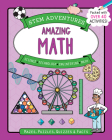 Stem Adventures: Amazing Math: Mazes, Puzzles, Quizzes & Facts, More Than 40 Activities! Cover Image