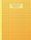 Graph Paper Journal Notebook: 100 Quad Ruled 4x4 Grid Paper Notebook For Math And Science Students - Simple Extra-Large Graph Paper Journal Pages 8. Cover Image