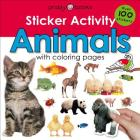 Sticker Activity Animals: Over 100 Stickers with Coloring Pages (Sticker Activity Fun) Cover Image