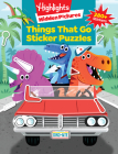 Things That Go Puzzles (Highlights Sticker Hidden Pictures) Cover Image