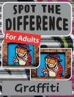Spot the Difference Book for Adults - Graffiti Cover Image