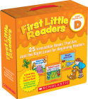 First Little Readers Parent Pack: Guided Reading Level D: 25 Irresistible Books That Are Just the Right Level for Beginning Readers Cover Image