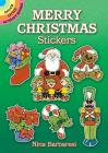Merry Christmas Stickers (Dover Little Activity Books Stickers) Cover Image