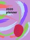 2020 Planner: Jan 2020-Jan 2021 Weekly Planner Cover Image