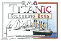 RMS Titanic Colouring Book Cover Image