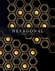 Hexagonal Graph Paper for Game: Hexagonal Graph Paper popular with gamers of all kinds as it is ideal for drawing game maps Cover Image