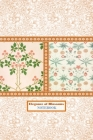 Elegance of Blossoms NOTEBOOK [ruled Notebook/Journal/Diary to write in, 60 sheets, Medium Size (A5) 6x9 inches] Cover Image