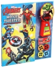 Marvel Avengers: Movie Theater Storybook & Movie Projector Cover Image
