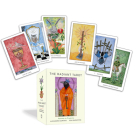 The Radiant Tarot: Pathway to Creativity (78 Cards and Guide Book) Cover Image
