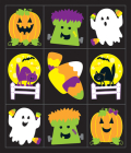 Halloween Friends Prize Pack Stickers Cover Image