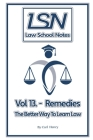Law School Notes: Remedies Cover Image