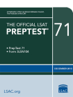 The Official LSAT Preptest 71: (dec. 2013 LSAT) Cover Image
