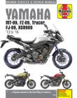 Yamaha MT-09, FZ-09, Tracer, FJ-09, XSR900 Haynes Service & Repair Manual: 2013 to 2019 Cover Image