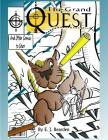 The Grand Quest: And Other Comics to Color Cover Image