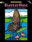 Butterflies Stained Glass Coloring Book: Deluxe Edition with 48 Stained Glass Sheets Cover Image