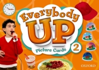 Everybody Up 2 Picture Cards: Language Level: Beginning to High Intermediate. Interest Level: Grades K-6. Approx. Reading Level: K-4 Cover Image