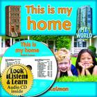 This Is My Home - CD + Hc Book - Package (My World) Cover Image