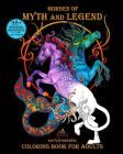 Horses of Myth and Legend: Coloring Book for Adults Cover Image