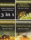 Beekeeping: For Beginners and Advanced Beekeeping Cover Image