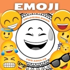 Emoji Coloring Book For Adults and Teenagers: Funny Collection of Emoji Mandala Coloring Pages - Amazing Patterns and Relaxing Coloring Book For Teens Cover Image