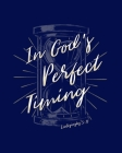 In God's Perfect Timing Ecclesiastes 3: 11: Dot Grid Notebook - 8 x 10 - Soft Matte Cover Cover Image