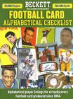 Beckett Football Alphabetical Checklist Cover Image
