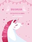 Unicorno San Valentino dei bambini Libro da colorare: Miglior libro regalo per bambini ragazzi e ragazze. Cover Image