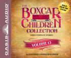 The Boxcar Children Collection Volume 13 (Library Edition): The Mystery of the Lost Village, The Mystery of the Purple Pool, The Ghost Ship Mystery Cover Image