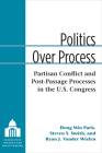 Politics Over Process: Partisan Conflict and Post-Passage Processes in the U.S. Congress (Legislative Politics And Policy Making) Cover Image