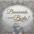 Bienvenidos a nuestra boda!: Regalos de Arte Libro de Invitados de Boda Citas divertidas para la pareja inconformista. Cover Image