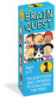 Brain Quest Grade 1, Revised 4th Edition: 750 Questions and Answers to Challenge the Mind (Brain Quest Decks) Cover Image
