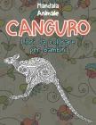 Libri da colorare per bambini - Mandala - Animale - Canguro Cover Image